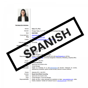 Download my resume in Spanish